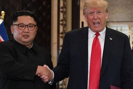 Trump Says He and Kim Jong Un 'Fell in Love'