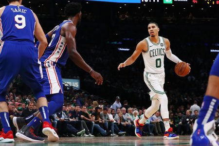 NBA Jumps Out to a Sloppy Start and a Celtics Victory