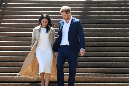 Harry and Meghan Charm Sometimes Skeptical Subjects in Australia