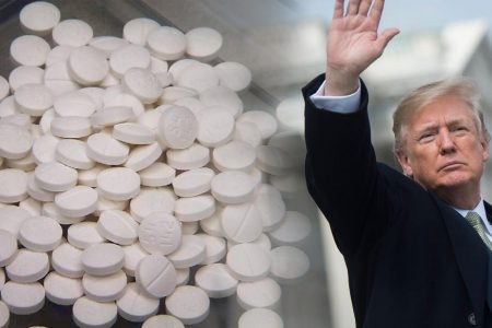 Trump signs opioids law at White House event