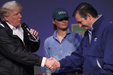 Donald Trump gets sweet revenge on Ted Cruz today in Texas