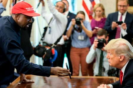 Kim Kardashian is not embarrassed about Kanye West's visit with Trump