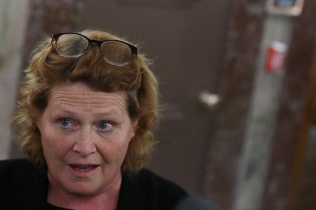 Heidi Heitkamp's campaign mistakenly named them as abuse survivors. Now they want answers.
