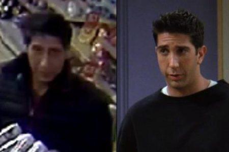 Police hunt Ross-from-'Friends' lookalike
