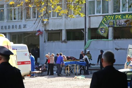 Student Gunman Kills 19 and Wounds Dozens at a College in Crimea