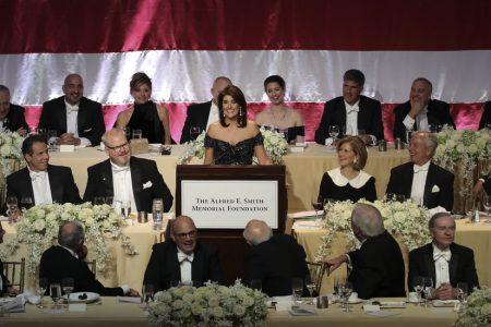 Nikki Haley Pokes Fun at Trump, and Herself, at Al Smith Dinner