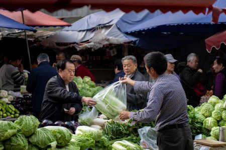 China's Economy Hits Slowest Pace in a Decade