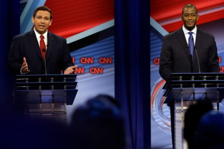 Florida Governor Candidates Andrew Gillum and Ron DeSantis Face Off in Contentious Debate