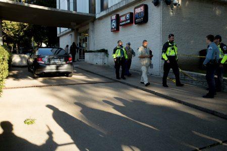 Guard Shoots Man Who Forced His Way Into Washington TV Station