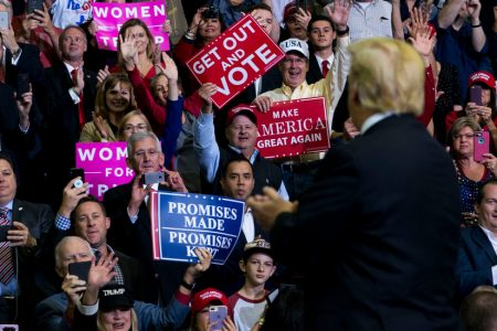 Trump Rallies for Republicans, but Finds 'Do Not Enter' Signs in Some Races