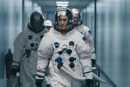 'First Man' shows Neil Armstrong mourning his daughter on the moon. But did that really happen?