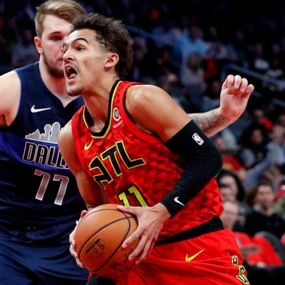 Hawks' Trae Young comes through late to help beat Luka Doncic, Mavericks in first meeting