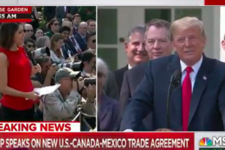 Trump To Female Reporter: 'I Know You're Not Thinking, You Never Do'