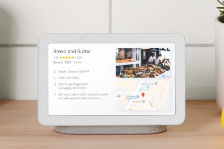 Google has announced its first smart speaker with a screen — you can pre-order it right now for $149