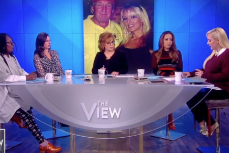 'The View' Hosts Rip Trump For Calling Stormy Daniels 'Horseface'
