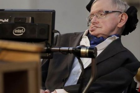 Stephen Hawking said 'there is no god' and that humans will 'live in space' in final book