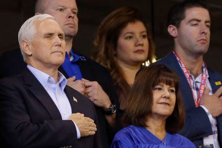 Report: VP Mike Pence's walkout at Indianapolis Colts NFL game costly to taxpayers
