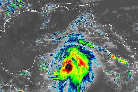 Tropical Storm Michael threatens to strike Florida's Gulf Coast as a hurricane midweek