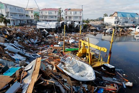 Striking photos and video from Michael's path of destruction