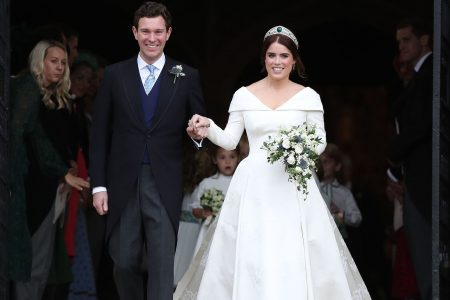 Princess Eugenie marries Jack Brooksbank at star-studded royal wedding in Windsor