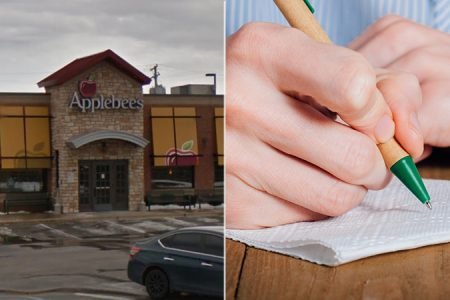 Applebee's waitress in Kentucky given racist note on napkin instead of tip, mom claims