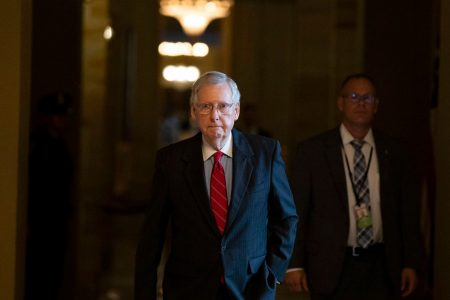 Senate heads for exits as vulnerable Democrats get campaign time and McConnell gets his judges