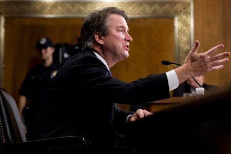 Senate moves ahead on Kavanaugh's Supreme Court nomination with a procedural vote expected Friday