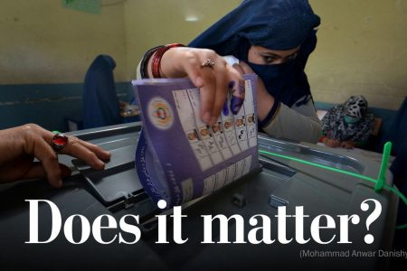 The despair at the heart of Afghanistan's election