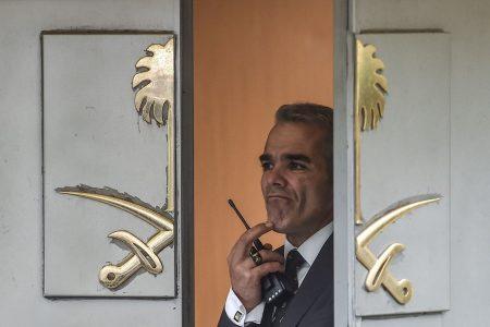 Turkish investigators search Saudi Consulate where journalist was last seen