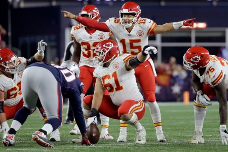 Chiefs QB Patrick Mahomes leads a contentious NFL MVP race