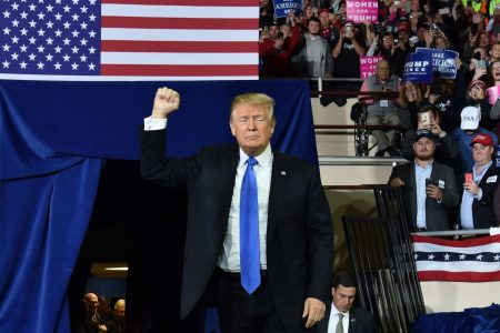 Trump celebrates McConnell, federal judicial appointments at Kentucky rally