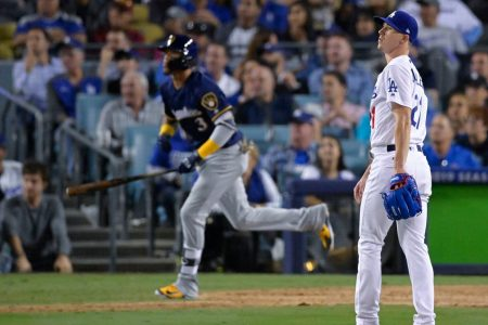 Dodgers fall flat in Game 3 as Brewers regain series lead in NLCS