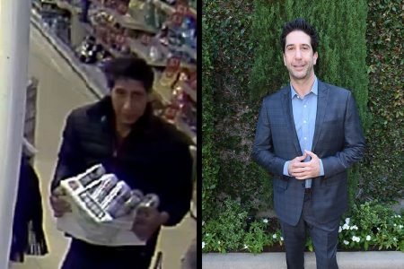 'The One Where Ross Became a Thief': British police hunt David Schwimmer lookalike
