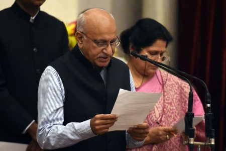 Indian government minister steps down as country's #MeToo movement gains traction
