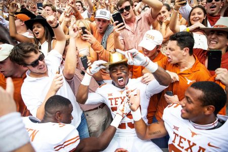 Texas and Notre Dame generating the good kind of noise these days