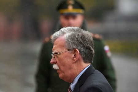 Bolton faces Moscow's dismay amid US pledges to withdraw from nuclear pact