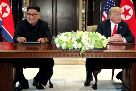 Trump says second summit with Kim Jong Un will happen after the midterms