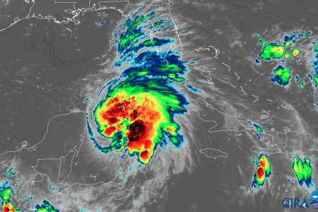 Hurricane Michael is forecast to strengthen and make landfall in Florida as a 'dangerous' Category 3 Wednesday