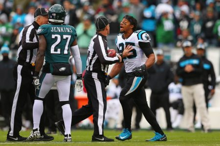 Eric Reid calls Malcolm Jenkins a 'sellout' after confrontation in Panthers-Eagles game
