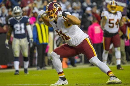 Redskins-Cowboys: Washington leads 20-17 late in the fourth quarter