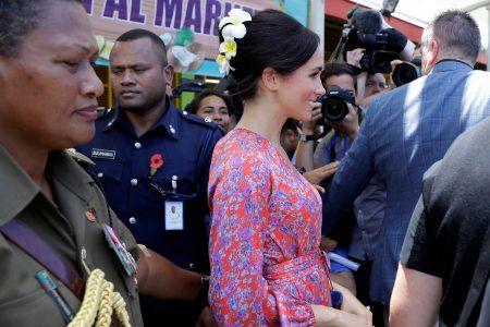 Duchess Meghan's visit to Fiji market cut short over security concerns