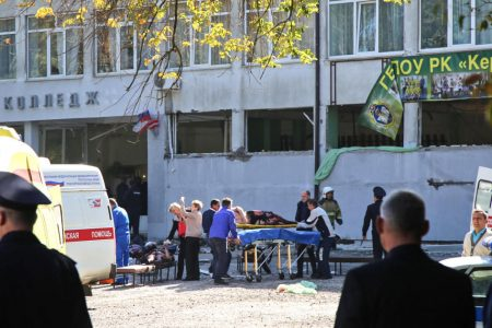 At least 19 killed in attack on college in Russian-annexed Crimea