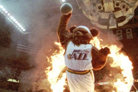 Utah Jazz fire longtime employee who played team's Jazz Bear mascot