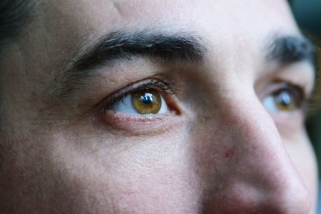 A man drank too much of an erectile dysfunction. It tinted his vision red