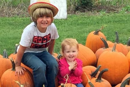 6-year-old boy with diabetes sells pumpkins, raises nearly $24000 for new service dog