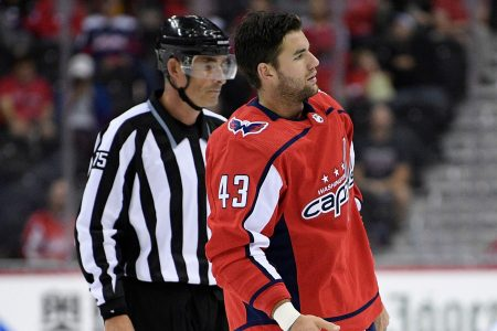 Capitals' Tom Wilson suspended 20 games for hit to the head