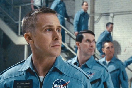 """First Man"" stumbles behind ""Venom"" and ""A Star is Born"" at weekend box office"