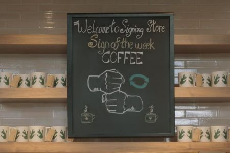 Starbucks opens its first US sign language store in Washington, DC