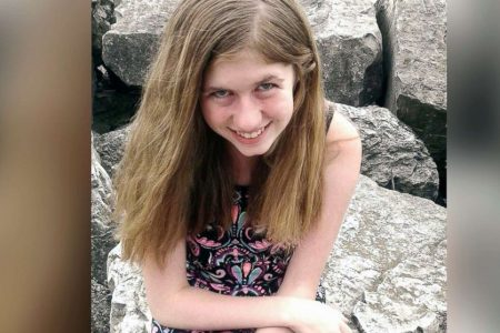 Wisconsin community holds vigil for missing girl Jayme Closs
