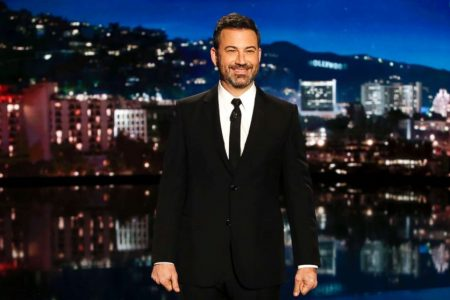 Kimmel says sometimes he has to 'rewrite' the show when Trump 'does something nutty'